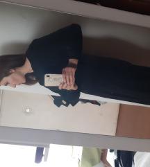 ZARA haljina plava/crna