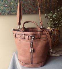 Smeđa bucket torba