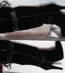 Crne antilop visoke čizme
