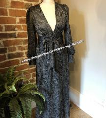 HIT Zara duga haljina s uzorkom NOVA