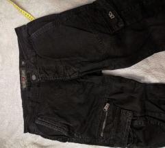 Retro jeans cargo hlače veličina 29 (S muški)