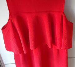 Zara- crvena haljina