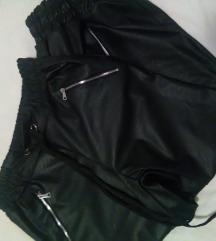 Kožne hlače +majica