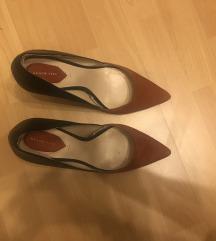 Zara kožne cipele na petu