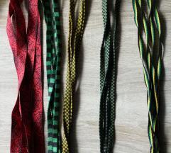 Razne vezice za tenisice novo