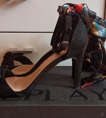 Crne sandale 38 pt.free
