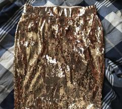 Sljokicasta suknja za novu godinu