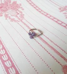 Vintage srebreni prsten AKCIJA 120 kn!