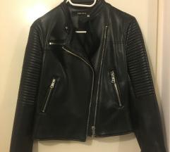 Zara kožna jakna S