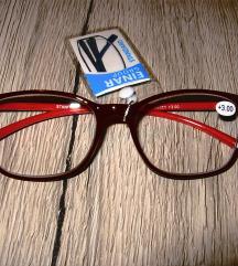 Dioptrijske naočale +3.00 + futrola