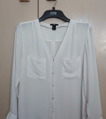 Bijela ženska košulja H&M
