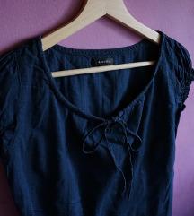 AMISU tamnoplava majica/bluza/košulja
