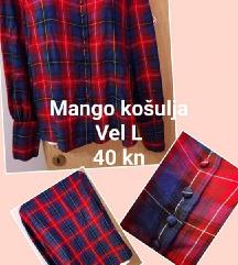 Mango karirana košulja 40 kn