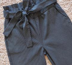 Rezz Paperbag hlače na točkice