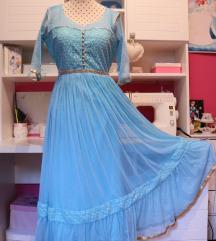 🌊Tirkizna Princess haljina 👑✨