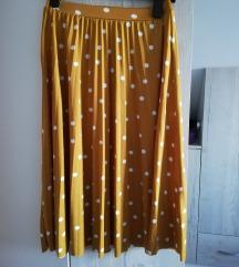 Reserved plisirana suknja M