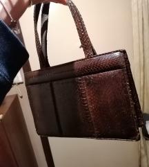 Vintage kozna torbica