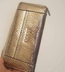 Original Guess zlatni veliki novčanik