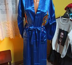 Kraljevsko plavi kimono/ogrtač