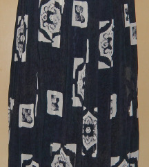 suknja na falde