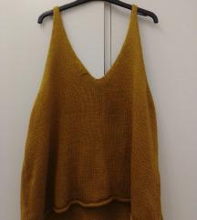 Oversized kratki džemper