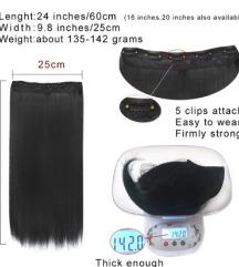 Crne ekstenzije 60cm