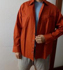 Muška košulja boje cigle