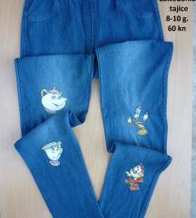 Nove Calzedonia Disney jeans tajice, 8-10 g.