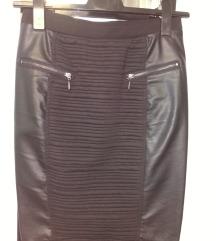 Kožna suknja 36