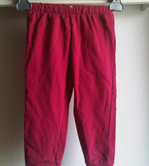 Nove nekorištene proljetne hlače za curice