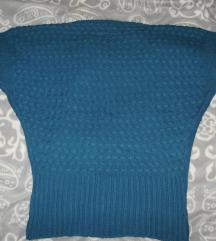 plavo zelena majica / vesta