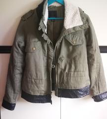 Nova militari maslinasta jakna
