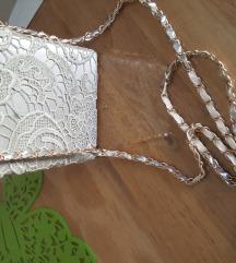Clutch torbica siva
