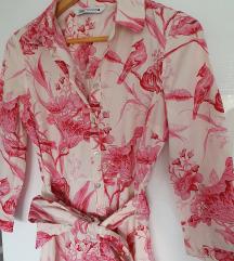 Zara cvjetna haljina S/36