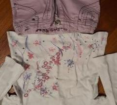 Trapke i majica za curke