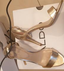 Sandale zlatne