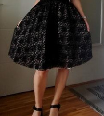 Vesna Sposa svečana crna haljina A kroja