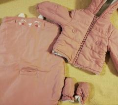 C&a jakna + vreća i rukavice