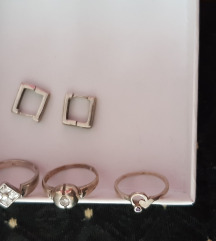 Lot srebrnog nakita