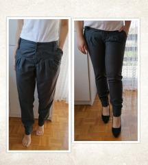 Sive hlače - STRADIVARIUS, vel. XL/42