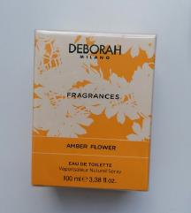 Deborah amber flower cvjetni NOVI parfem 100ml