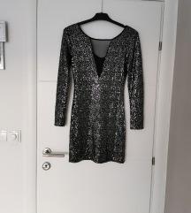 Šljokasta novogodišnja haljina