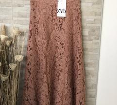 Nova Zara midi suknja