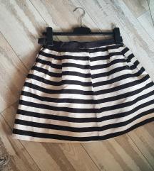H&M suknja prugice