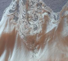 La perla luksuzna ivory slip spavaćica