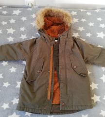 ZARA zimska jakna 2 u 1