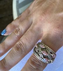 Srebrni prsten veliki 925