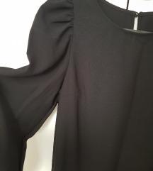H&M haljina s puf rukavica vel. XS