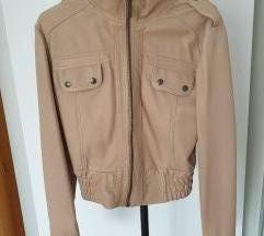 Kratka kožna jakna ručni rad 38