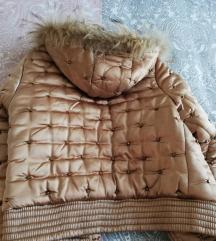Zlatna kratka jakna